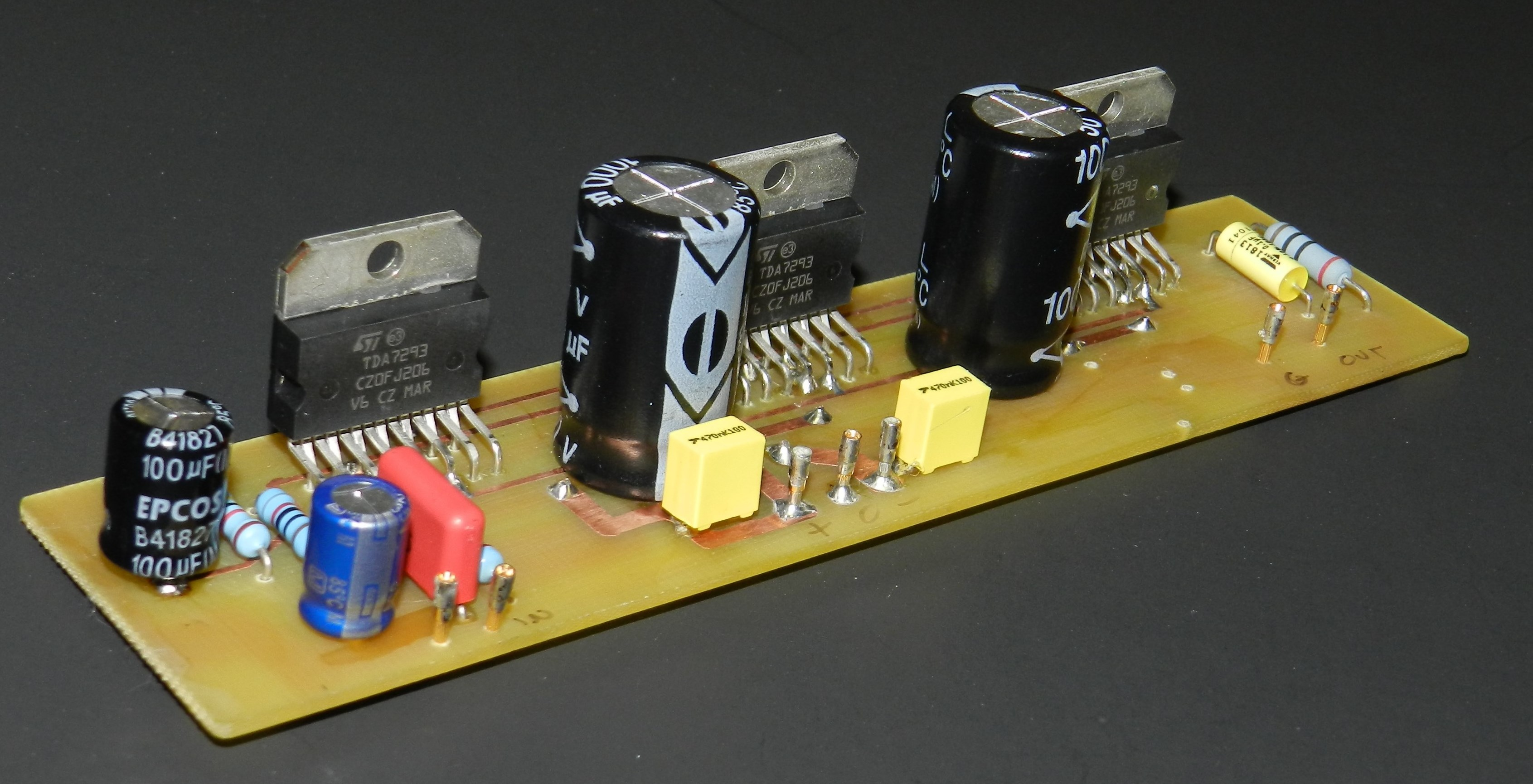 Tda7293 Buildaudioamps Operation And Uses Of Integrated Circuits The Is A Monolithic Circuit In Multiwatt15 Package Intended For Use As Audio Class Ab Amplifier High Fidelity Applications