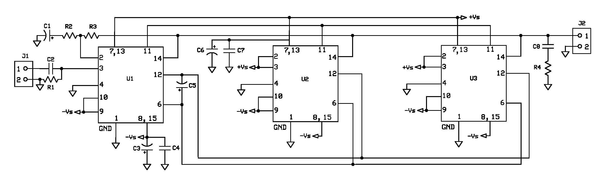 tda7293 buildaudioamps rh buildaudioamps com Tl070 Preamplifier Circuit Power Amplifier Circuit Diagram