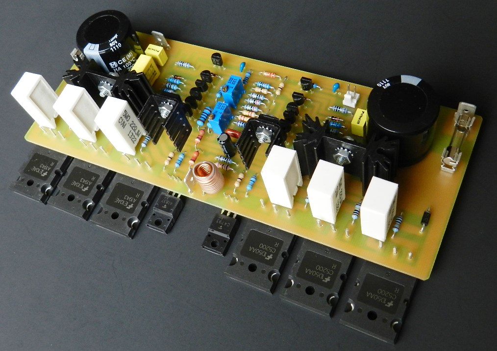 Project 45 buildaudioamps project 45 features a fully symmetrical current feedback audio power amplifier cfa based audio amplifiers have extraordinary sonic qualities that can only solutioingenieria Choice Image
