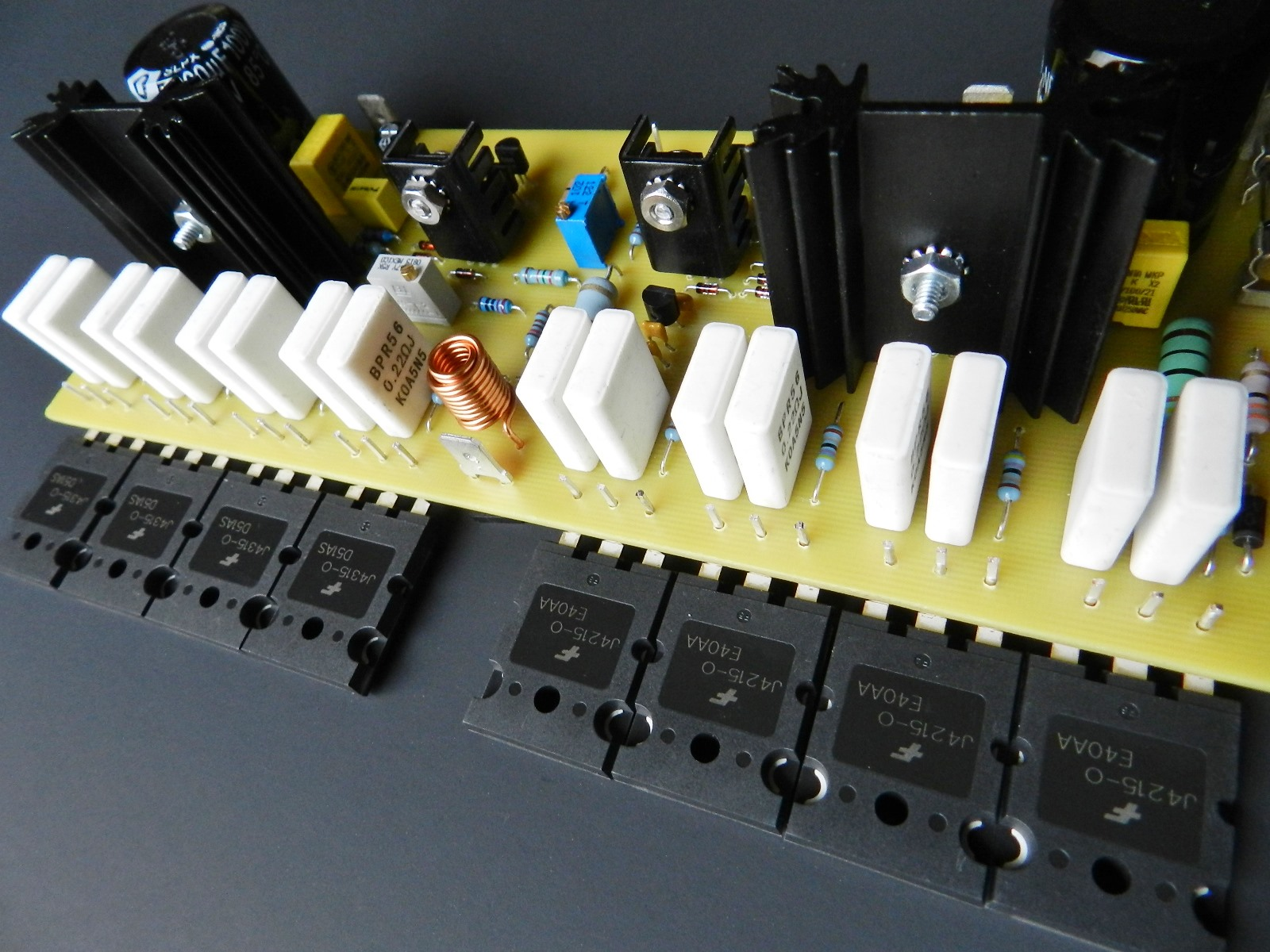 Project 57 Buildaudioamps Circuit Of Sziklai Pair Also The Gain S Is Input Stage Identical To Previous Cfa Based Projects Tied A Complementary Feedback Cfp Configured Power Output