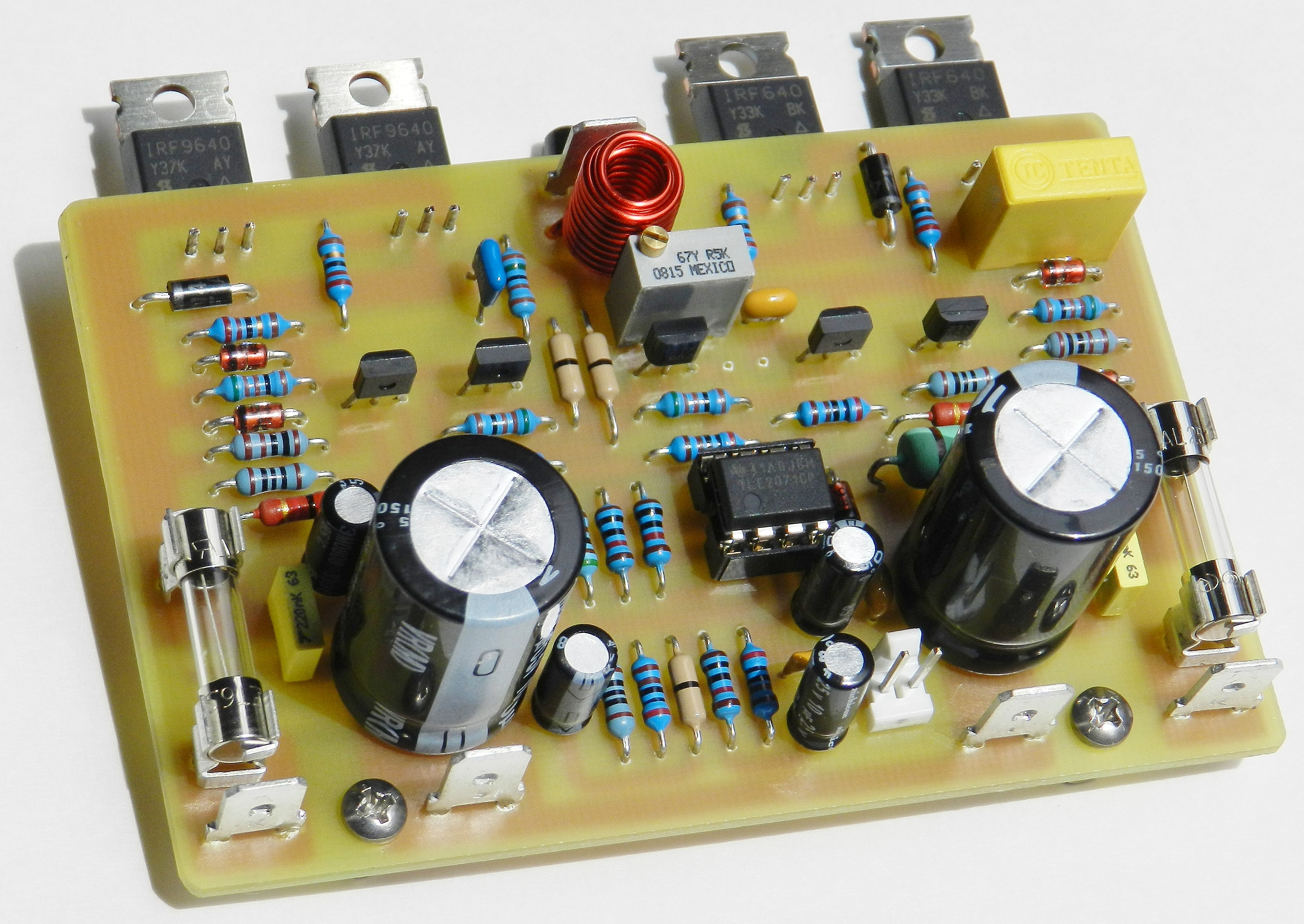 Project 62 Buildaudioamps Operational Amplifier Basics Electrical Engineering Is The First In Series Of Audio Power Projects That Uses An Op Amp Front End Input Stage This Based On A Build