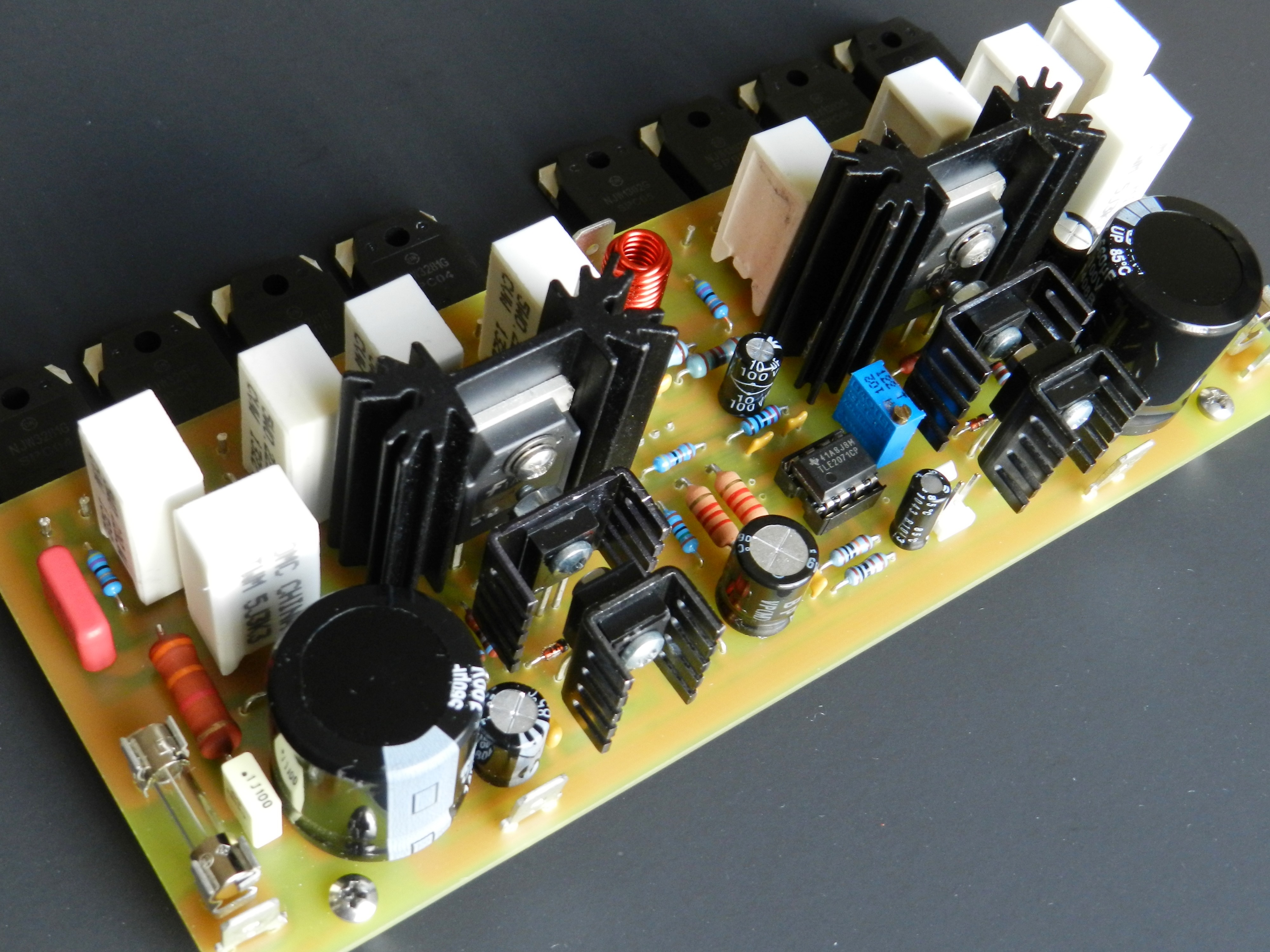 Project 63 Buildaudioamps The Operational Amplifier Used As An A Simple Explanation Is Second In Series Of Audio Power Amplifiers Which Low Noise High Speed Jfet Input At Front End