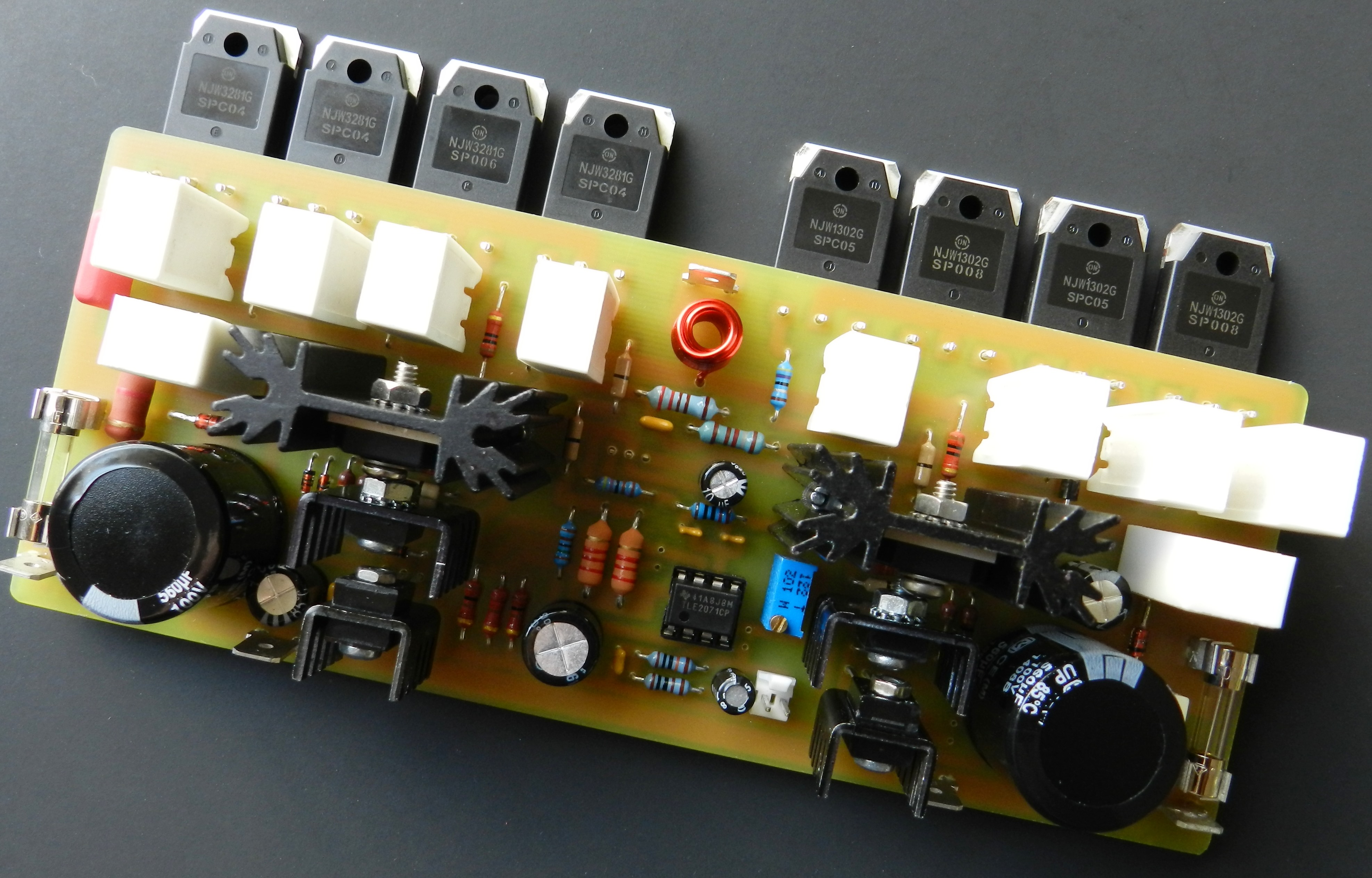 Project 63 Buildaudioamps Audio Generators Projects Circuits 9 Is The Second In Series Of Power Amplifiers Which A Low Noise High Speed Jfet Input Operational Amplifier Used At Front End
